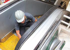 Assistência Técnica de Escadas Rolantes